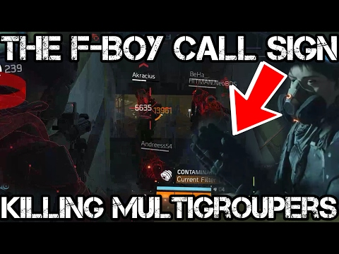 THE F-BOY CALL SIGN - The Division