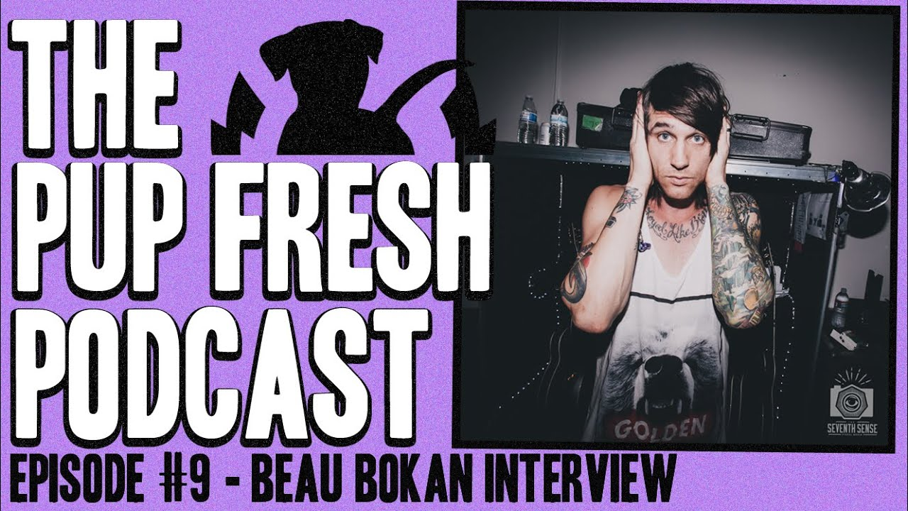 Pup fresh podcast ep 9 beau bokan blessthefall interview