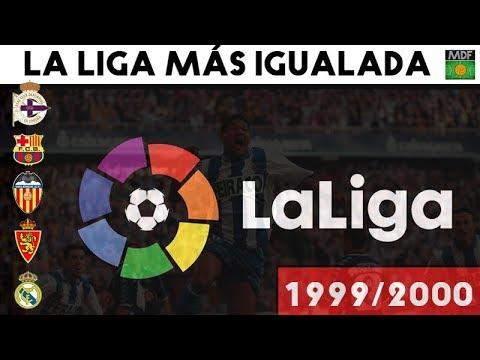 La LIGA MÁS IGUALADA DE LA HISTORIA (1999-2000) 🏆
