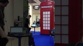 Квест Телефонная будка по мотивам Шерлок Холмса