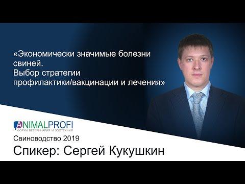 ANIMALPROFI 2019 Свиноводство. Сергей Кукушкин Экономически значимые болезни свиней