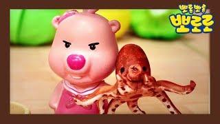 [요리왕 루피] 문어&새우 초밥 만들기   뽀로로 장난감   미니어처 장난감   클레이 아트