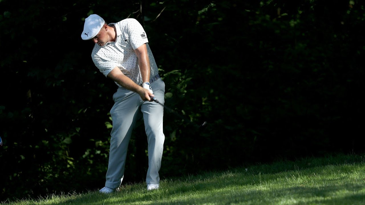 Bryson DeChambeau makes 10, torpedos round amidst rules...
