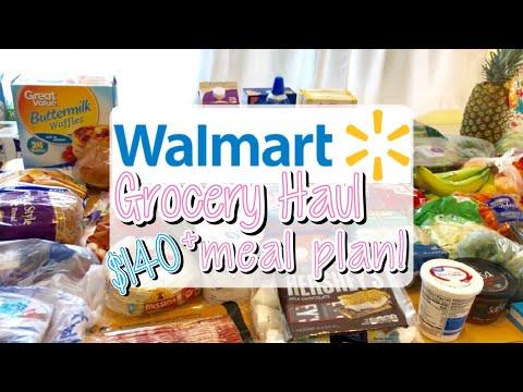 walmart-grocery-haul-+-meal-plan- -may-2019