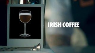 Irish Coffee Drink Recipe - How To Mix