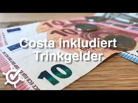 Costa inkludiert Trinkgelder - wann folgen MSC, Royal Caribbean & Co.?