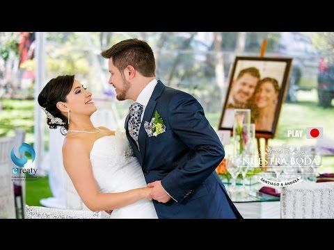 Wedding Andrea & Santiago Highlight Creaty