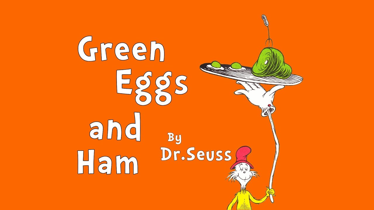 green eggs and ham # 3
