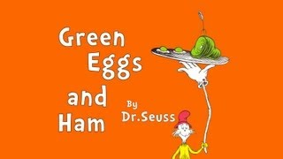 "Read-Aloud ""Green Eggs and Ham"" by Dr Seuss - A Book for Kids"