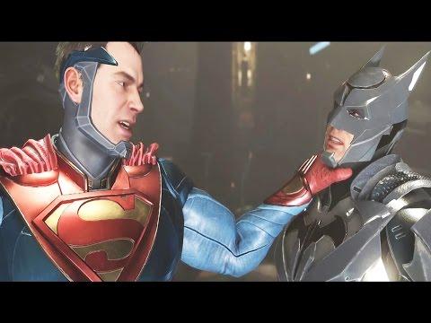 INJUSTICE 2 Both Endings (Good Ending/Bad Ending) - Batman vs Superman SIDE ENDINGS
