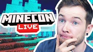 Reacting to MINECON Live 2019!