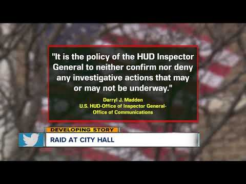 Raid at Cleveland City Hall cleveland city hall