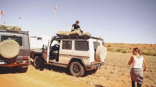 冒険家マイク・ホーンと行く、Gクラスの砂漠旅 in オーストラリア