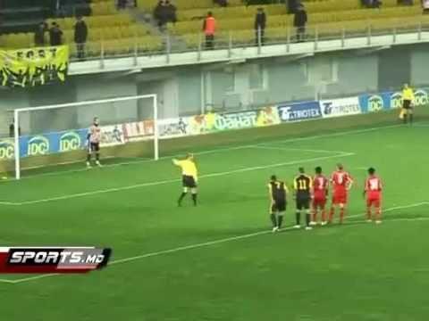 Edgars Gauracs funny goal (FC Sheriff)