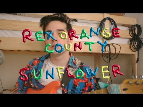 "Rex Orange County — ""Sunflower"" (cover & tutorial)"