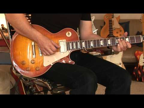 2010 Gibson Les Paul 1959 RI - light overdrive/cle...