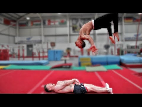 LONGEST BACKFLIP CHALLENGE **So Scary**