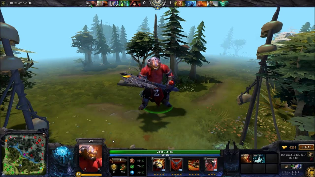 Dota 2 2014 TI4 Immortal Items + Custom Hero Effects