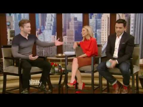 Matt Czuchry  interview  interview Live With Kelly 12 01 2016 co host Mark Consuelos