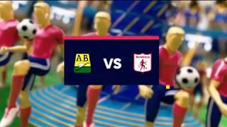 Bucaramanga vs América - Mejores jugadas - Fecha 9 Liga Aguila II 2018