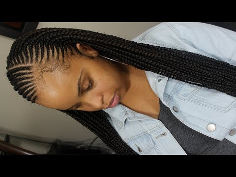 Tribal Feed In Braid Tutorial