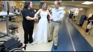 Video: Paralyzed bride-to-be determined to walk down the aisle