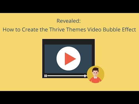How to Create the Thrive Themes Video Tutorial