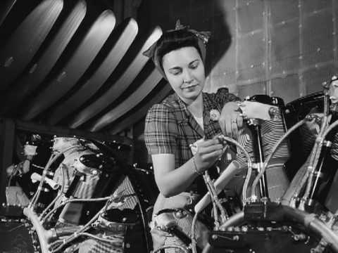 The Story behind Rosie the Riveter