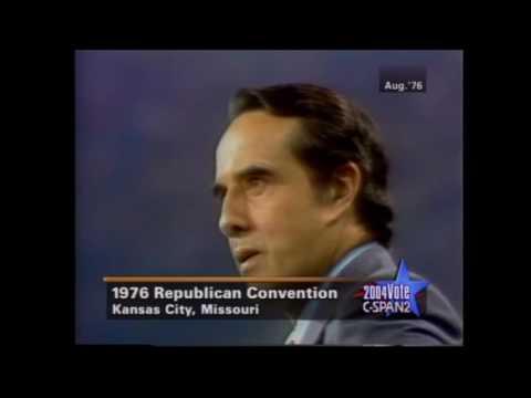 Bob Dole's 1976 VP nomination acceptance speech