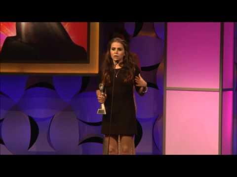 Mae Whitman Acceptance Speech 2015 Gracies