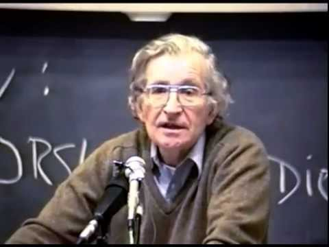 Noam Chomsky - Why Marijuana is Illegal and Tobacco is Legal