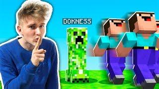 TROLLUJE WIDZÓW BĘDĄC CREEPEREM!   Minecraft Extreme