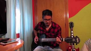 Tech n9ne - Straight out the gate ft Serj Tankian - Guitar cover