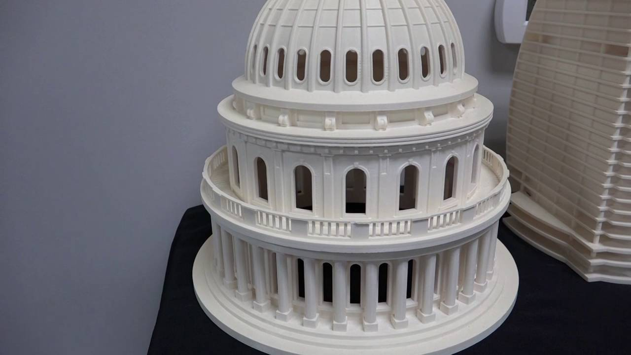 3d Printing Architectural Models Youtube