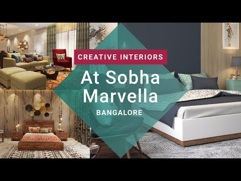 Creative Interior Designs For Sobha Marvella Bangalore