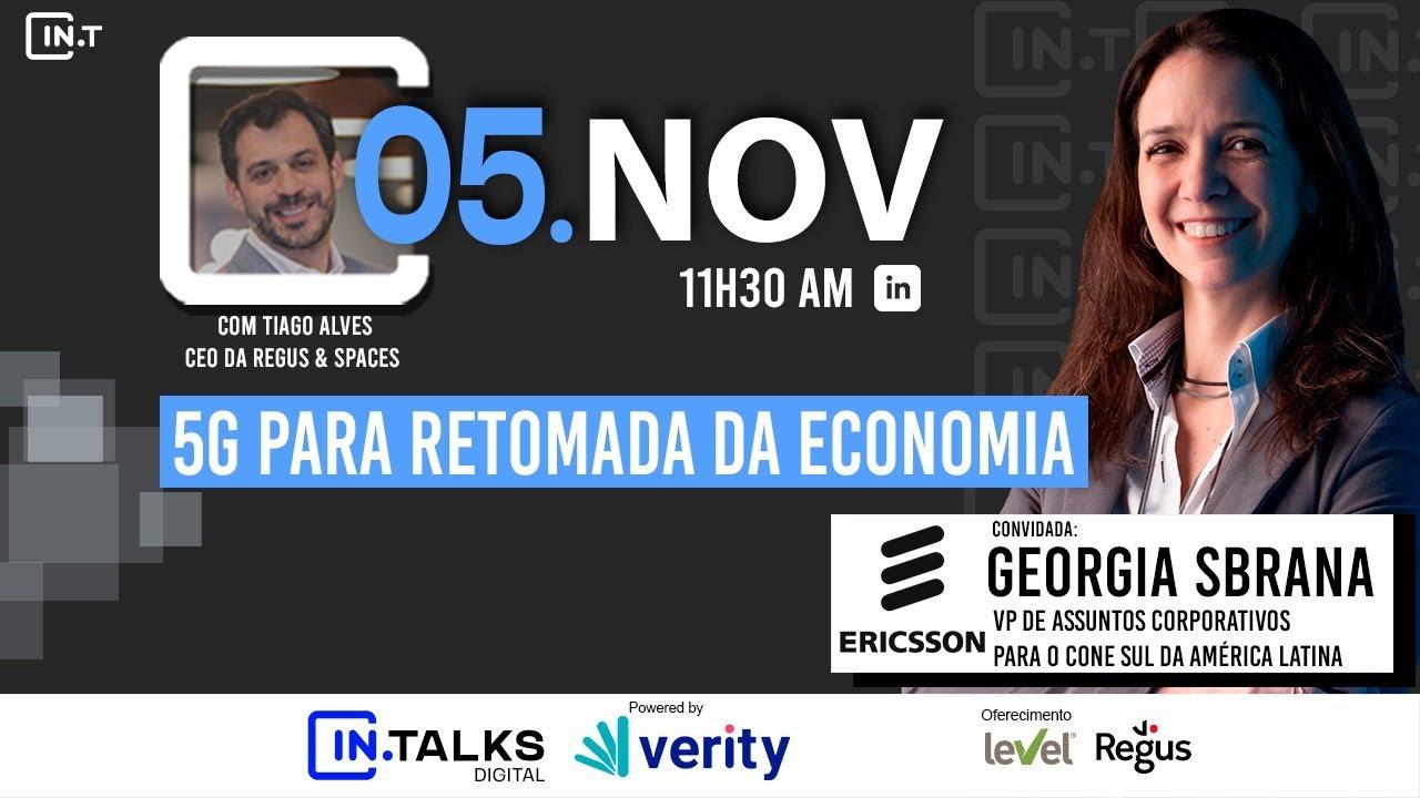 5G para a retomada da economia