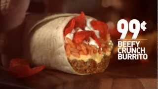 Video Taco Bell Beefy Crunch Burrito download MP3, 3GP, MP4, WEBM, AVI, FLV Mei 2018