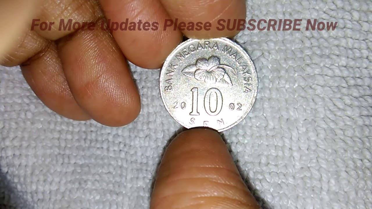 10 SEN BANK NEGARA MALAYSIA COIN