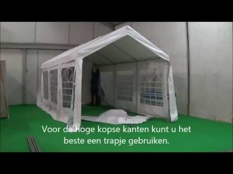 3x6 PVC feesttent koop-een-partytent.nl