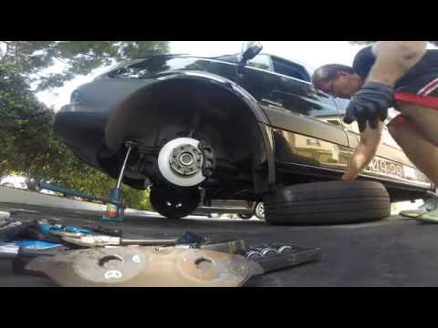 How To Replace Brake Pads 2015 Mercedes Sprinter / Dodge Sprinter 1080HD