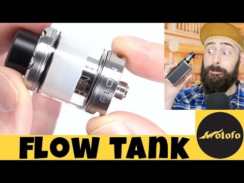 Vaping The Flow Sub-Ohm Tank By Wotofo!