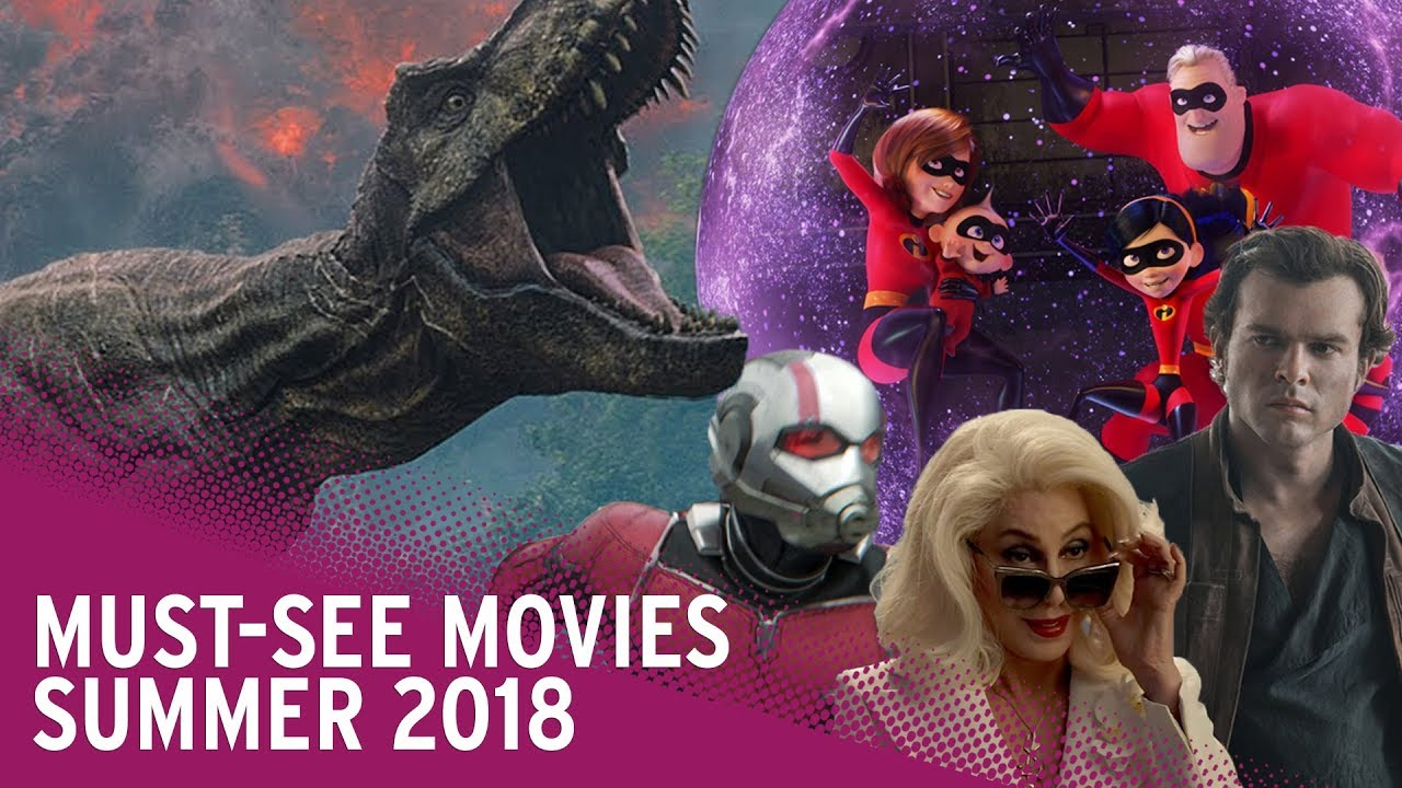 Biggest Summer Movie Releases 2018 | Solo, Incredibles 2, Jurassic World And More!