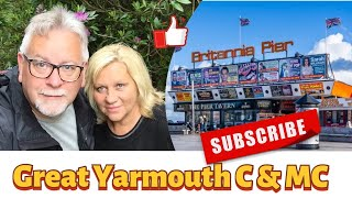 Great Yarmouth Caravan & Motorhome Club Site VLOG #006
