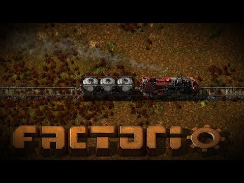 My First Train! Starting into Factorio EP 5