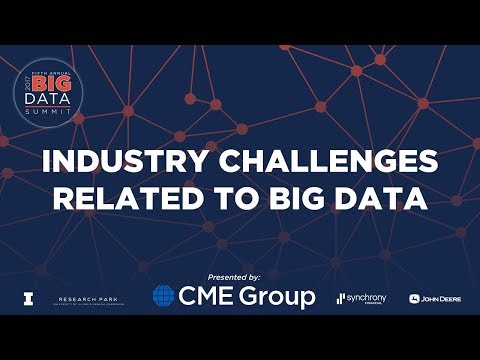Big Data Summit 2017- Industry Challenges Related to Big Data Panel