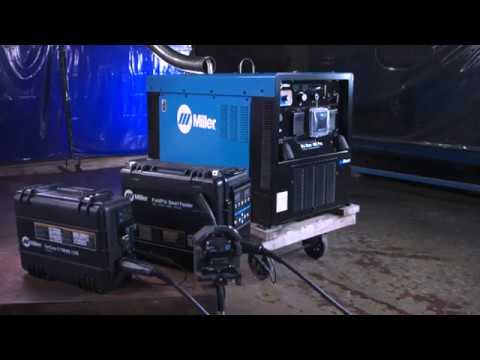 Miller ArcReach Technology on Engine-Driven Welder/Generators - YouTube
