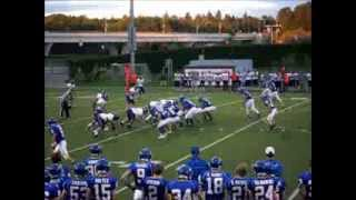 2012 mshsl week 2 varsity football game little falls flyers st cloud cathedral crusaders