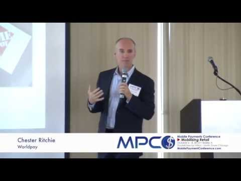 Chester Ritchie of Worldpay at the October 2014 Mobile Payments Conference
