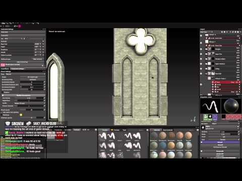"Art Livestreams - EP 13 "" Texturing & Placing Modular Windows """