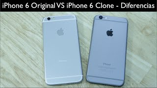 iPhone 6 VS iPhone 6 Clone Comparativa y diferencias